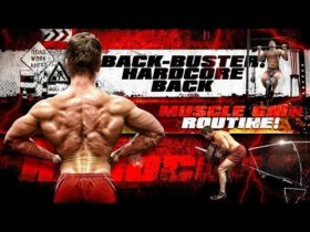 BACK BUSTER! Hardcore BACK Muscle Gain Routine!